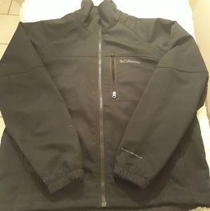 Columbia omni-shield jacket men L full zip